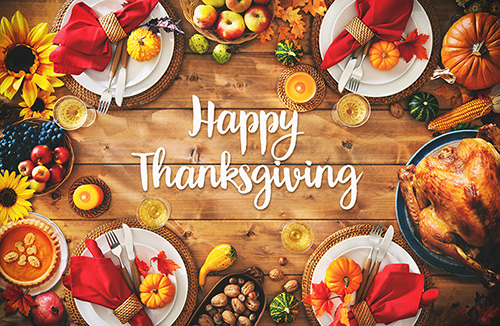 Thanksgiving Reflections from Our Team to Yours