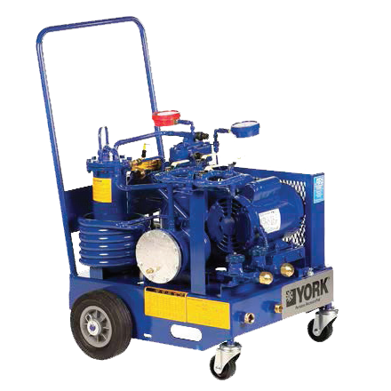 Chicago Compressor and Specialty Products - RP-2200 Water Cooled Recovery Pak, Portable Recovery Pak